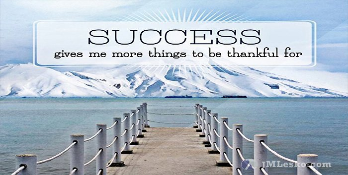 A dock leading out into the water viewing a snow covered mountain image from Thankfulness from Success wallpaper from J M Lesko